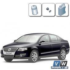 Замена масла с масляным фильтром на Volkswagen Passat B6