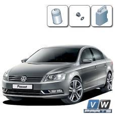 Замена масла с масляным фильтром на Volkswagen Passat B7