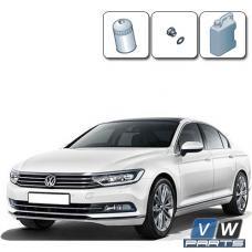 Замена масла с масляным фильтром на Volkswagen Passat B8