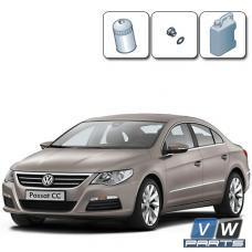 Замена масла с масляным фильтром на Volkswagen Passat CC