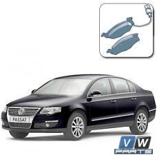 Замена передних тормозных колодок на Volkswagen Passat B6