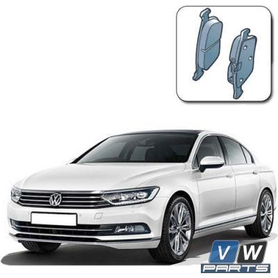 Замена задних тормозных колодок на Volkswagen Passat B8