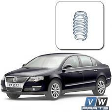 Замена задней пружины амортизатора на Volkswagen Passat B6