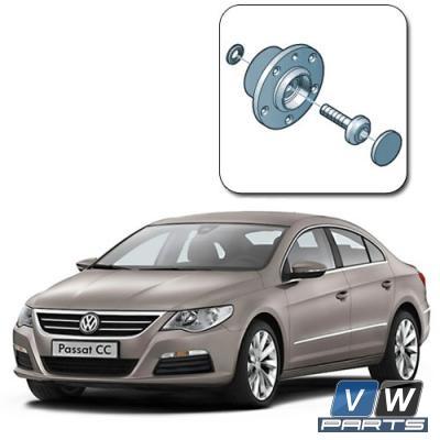 Замена задней ступицы на Volkswagen Passat CC