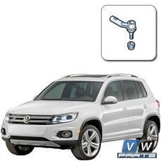 Замена наконечника рулевой тяги на Volkswagen Tiguan