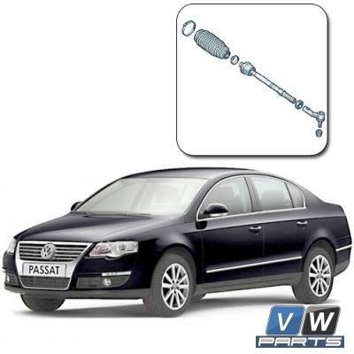Замена рулевой тяги на Volkswagen Passat B6