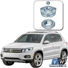 Замена опорного подшипника переднего амортизатора с опорой на Volkswagen Tiguan