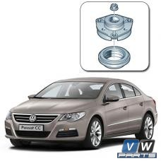 Замена опорного подшипника переднего амортизатора с опорой на Volkswagen Passat CC