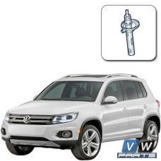 Замена переднего амортизатора на Volkswagen Tiguan