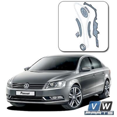 Замена цепи ГРМ на Volkswagen Passat B7 (1.4 TSI)