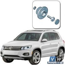 Замена задней ступицы на Volkswagen Tiguan I (для переднего привода)