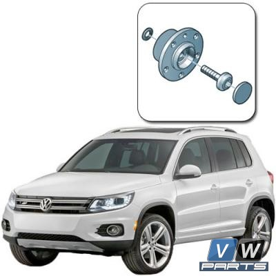 Замена задней ступицы на Volkswagen Tiguan I (для полного привода)