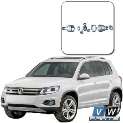 Замена внутреннего ШРУСа на Volkswagen Tiguan I