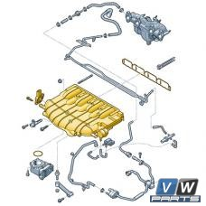 Коллектор впускной Volkswagen Tiguan (2.0 TSI) - замена