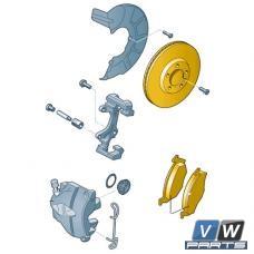 Диски тормозные передние с колодками Skoda Yeti - замена