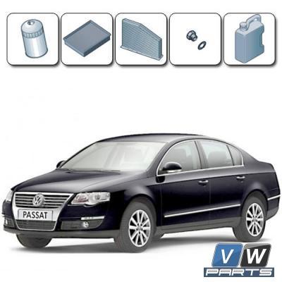 Стоимость ТО-1, ТО-3, ТО-5 на Volkswagen Passat B6