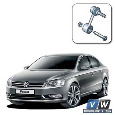 Замена задней стойки стабилизатора на Volkswagen Passat B7