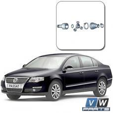 Замена внутреннего ШРУСа на Volkswagen Passat B6