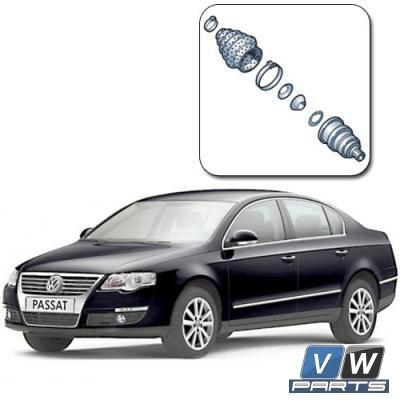 Замена наружного ШРУСа на Volkswagen Passat B6