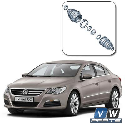 Замена наружного ШРУСа на Volkswagen Passat CC