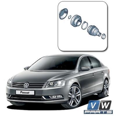 Замена внутреннего ШРУСа на Volkswagen Passat B7
