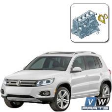 Замена заднего сальника коленвала на Volkswagen Tiguan
