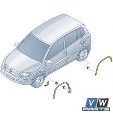 Накладка арки колеса задняя Volkswagen Tiguan - замена