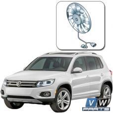 Замена вентилятора с блоком управления на автомобиле Volkswagen Tiguan