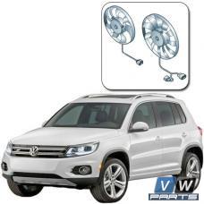 Замена двух вентиляторов с блоком управления на автомобиле Volkswagen Tiguan