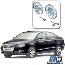 Замена двух вентиляторов с блоком управления на автомобиле Volkswagen Passat B6