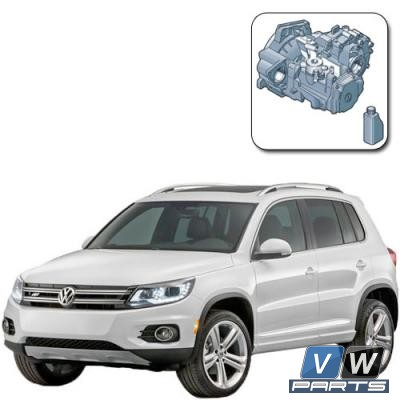 Замена масла в механической коробке на Volkswagen Tiguan