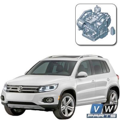 Замена масла в автоматической коробке 6 АКПП на Volkswagen Tiguan