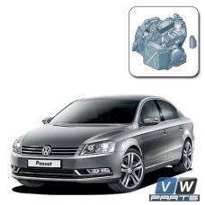 Замена масла в коробке 6 DSG на Volkswagen Passat B7