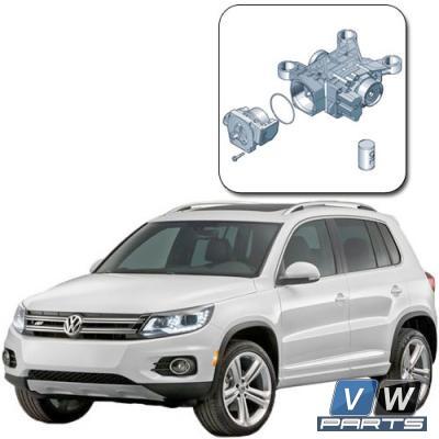Замена масла в муфте Haldex на автомобиле Volkswagen Tiguan