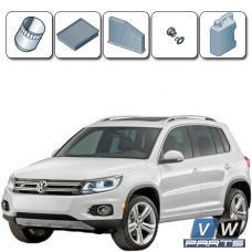 Стоимость ТО-1, ТО-3, ТО-5 на автомобиле Volkswagen Tiguan (1.4 TSI)