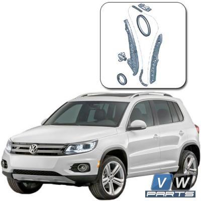 Замена цепи ГРМ на Volkswagen Tiguan (одна цепь 2.0 TSI)