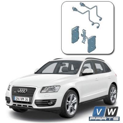 Замена передних тормозных колодок на Audi Q5