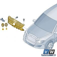 Решётка радиатора Volkswagen Tiguan - замена