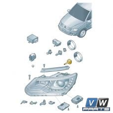 Лампа ксеноновая правая Volkswagen Tiguan - замена