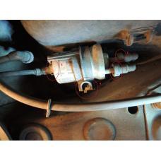 Skoda Superb замена топливного фильтра