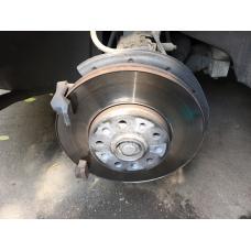 Skoda Octavia A5 замена задних тормозных дисков