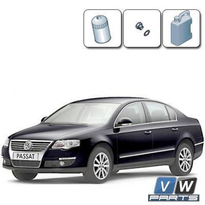 Масляный сервис на Volkswagen Passat B6