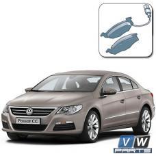 Колодки тормозные передние на Volkswagen Passat CC - замена