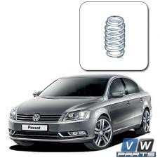 Замена задней пружины амортизатора на Volkswagen Passat B7