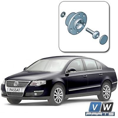Замена задней ступицы на Volkswagen Passat B6