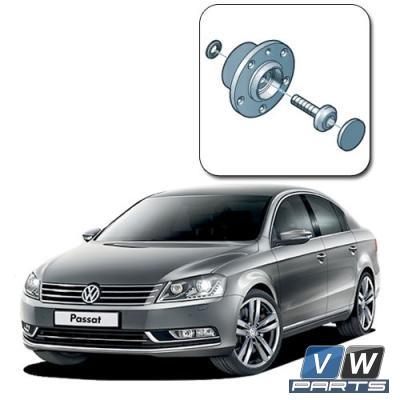 Замена задней ступицы на Volkswagen Passat B7