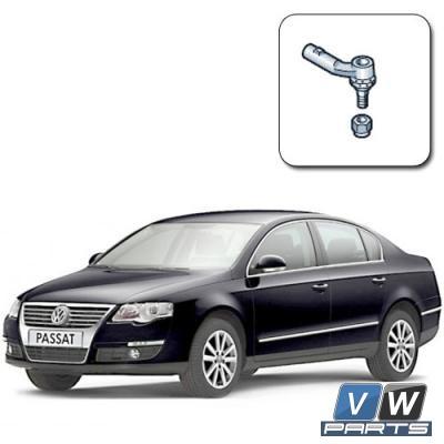 Замена наконечника рулевой тяги на Volkswagen Passat B6