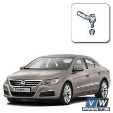 Замена наконечника рулевой тяги на Volkswagen Passat CC