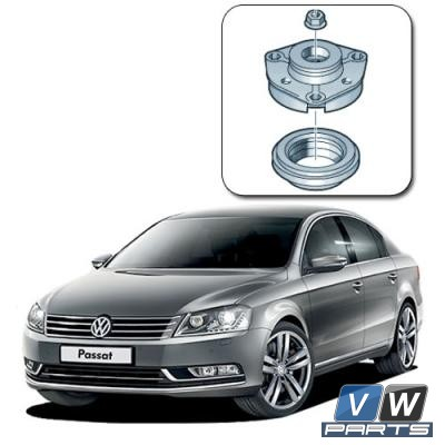 Замена опорного подшипника переднего амортизатора с опорой на Volkswagen Passat B7