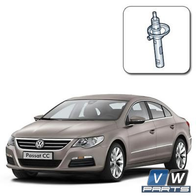 Амортизатор передний на Volkswagen Passat CC - замена
